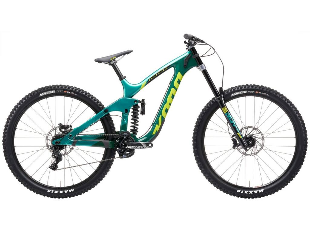 "KONA Operator CR 2021 29"" MTB downhill kerékpár, Gloss Dark Green & Metallic Green"