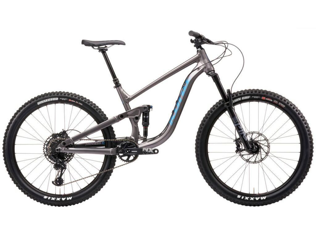 """KONA Process 134 DL 27.5 2021 27.5"""" MTB enduro fully kerékpár, Matt Faux Raw"""