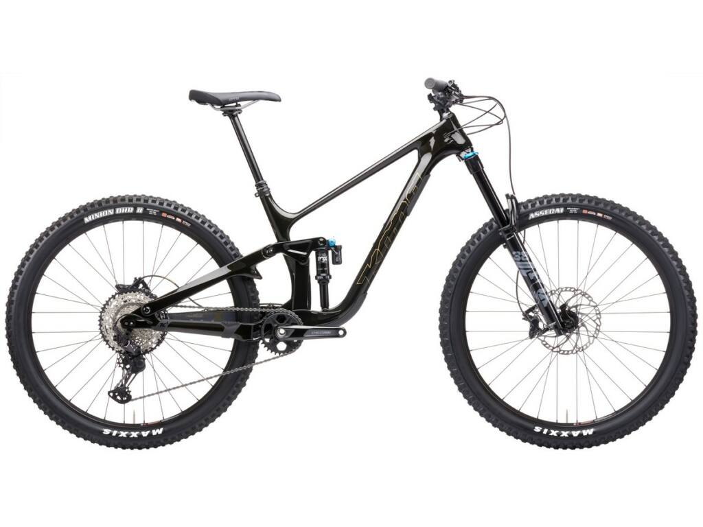 """KONA Process X 2021 29"""" MTB enduro fully kerékpár, Gloss Black"""