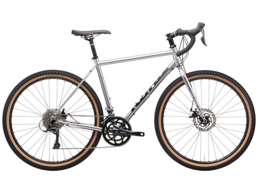KONA Rove 2021 gravel kerékpár, Gloss Faux Chrome