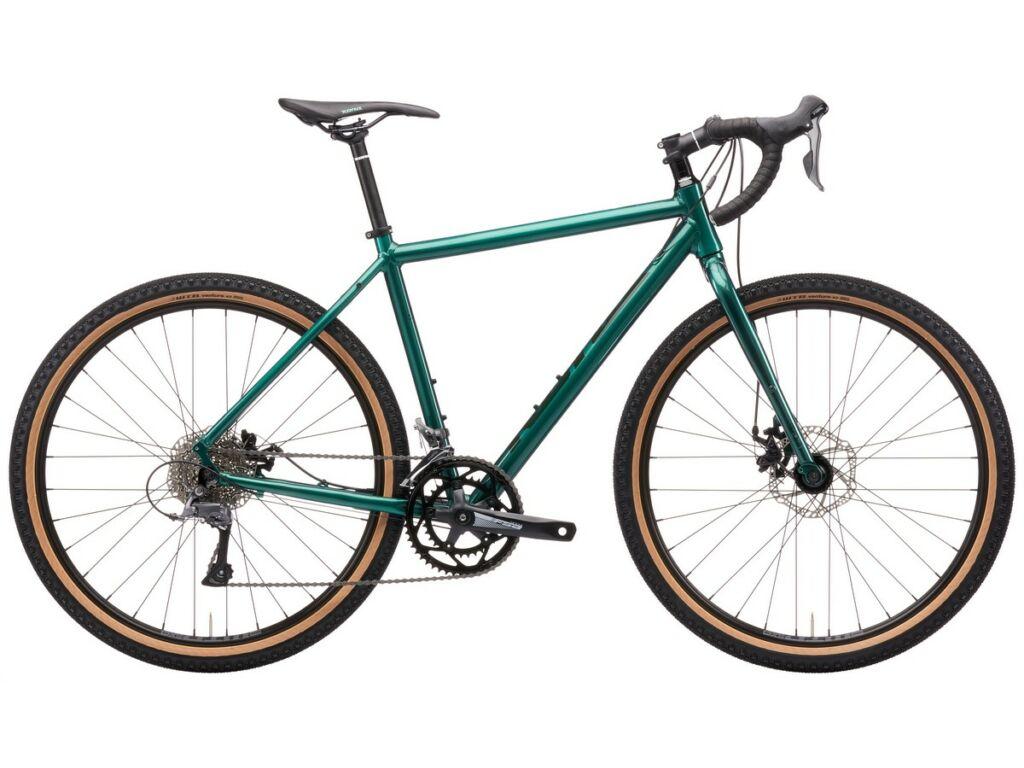 """KONA Rove AL 650 2021 27.5"""" gravel kerékpár, Gloss Canyon Green"""