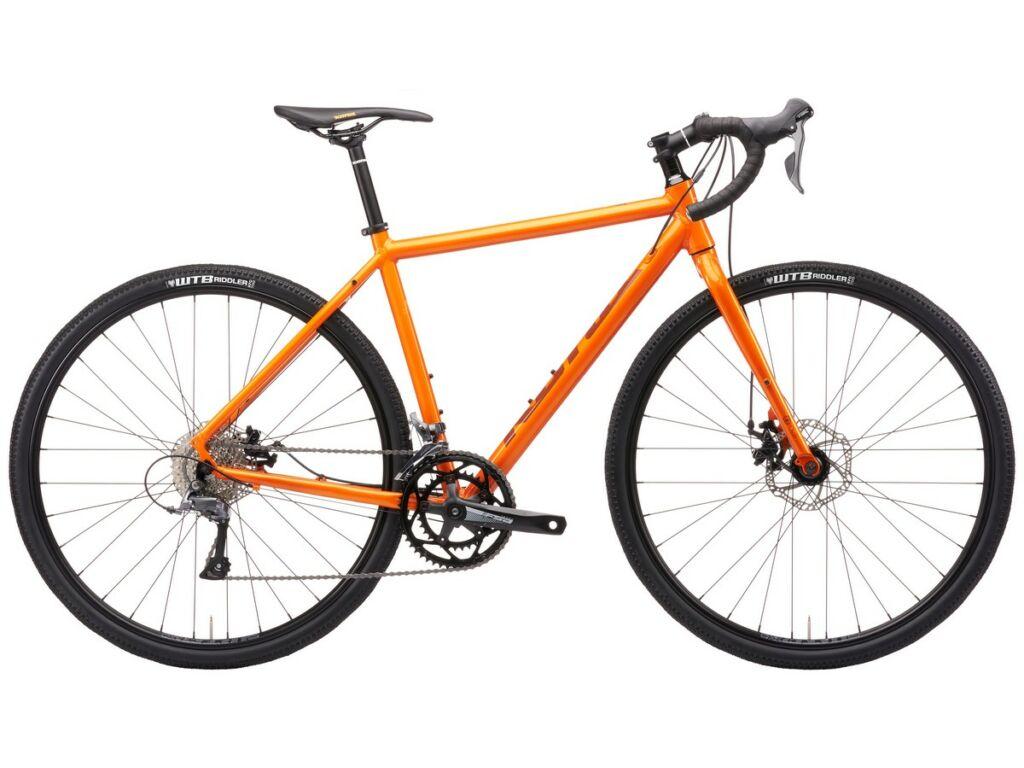 KONA Rove AL 700 2021 gravel kerékpár, Gloss Autumn Burn