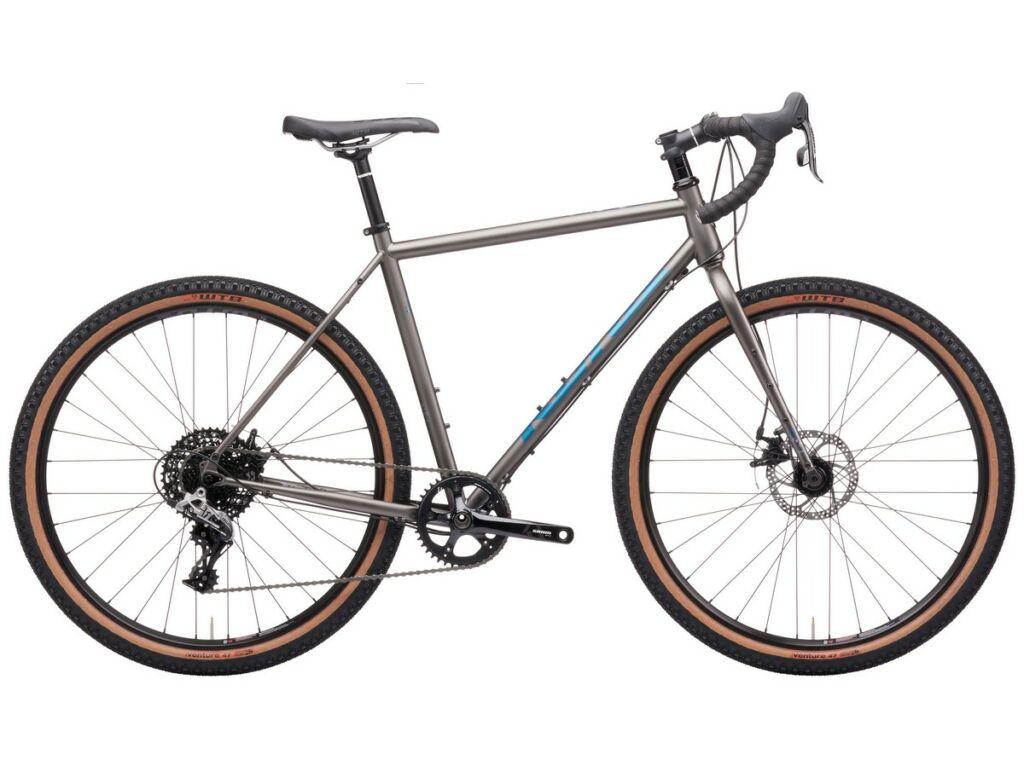 KONA Rove DL 2021 gravel kerékpár, Matte Faux Raw