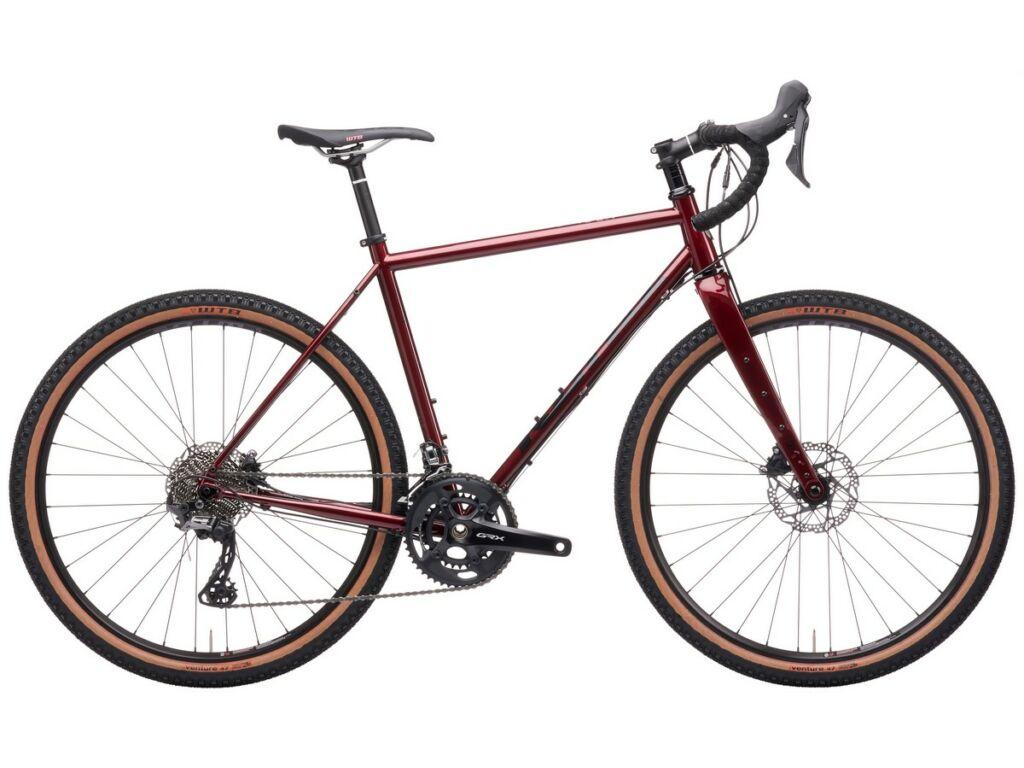KONA Rove LTD 2021 gravel kerékpár, Gloss Metallic Pinot Noir