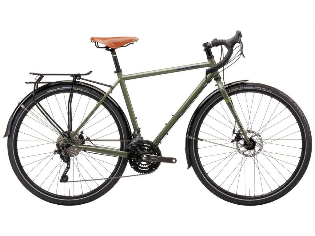 KONA Sutra 2021 gravel kerékpár, Gloss Concrete Green