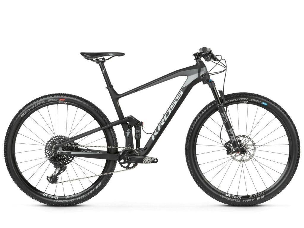 "KROSS Earth 4.0 2020 29"" MTB XC fully kerékpár, black / graphite matt"