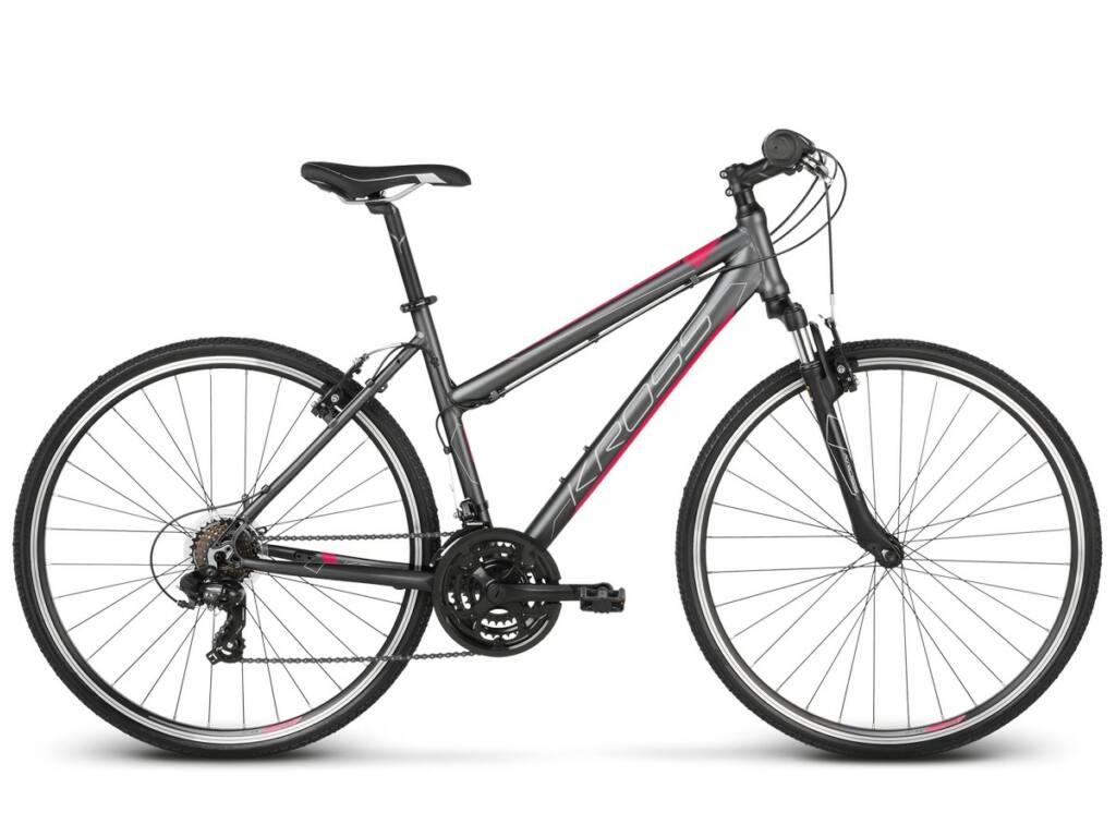 """KROSS Evado 2.0 D 2020 28"""" női cross kerékpár, black / mint"""