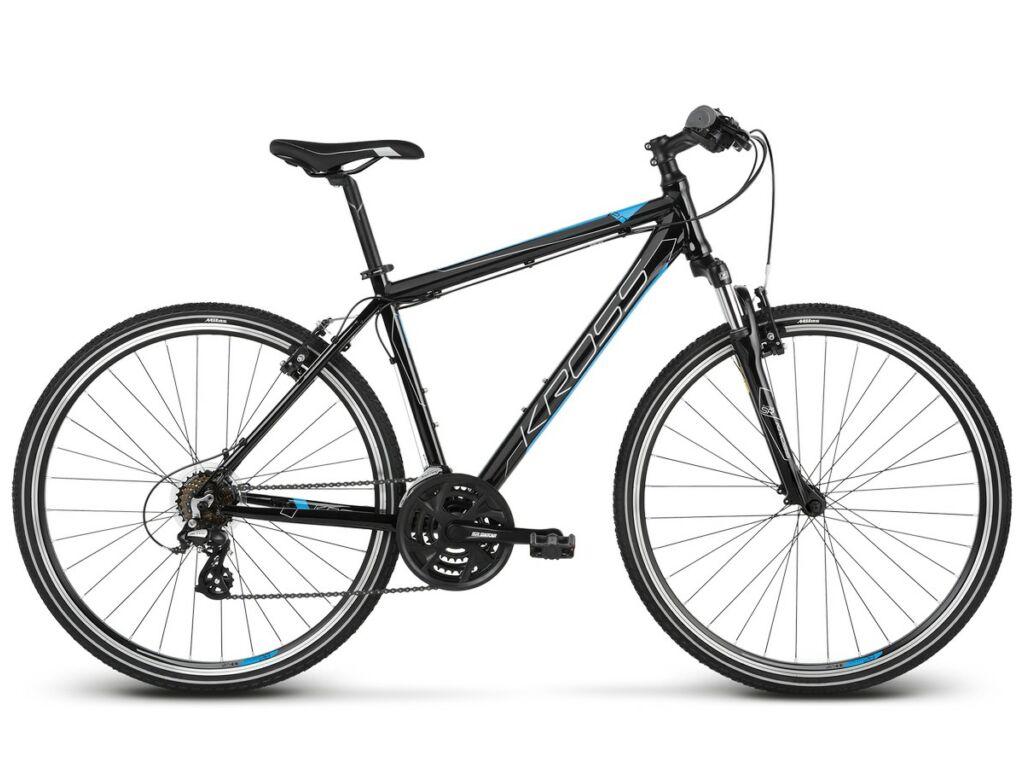 "KROSS Evado 2.0 M 2020 28"" férfi cross kerékpár, black / blue"