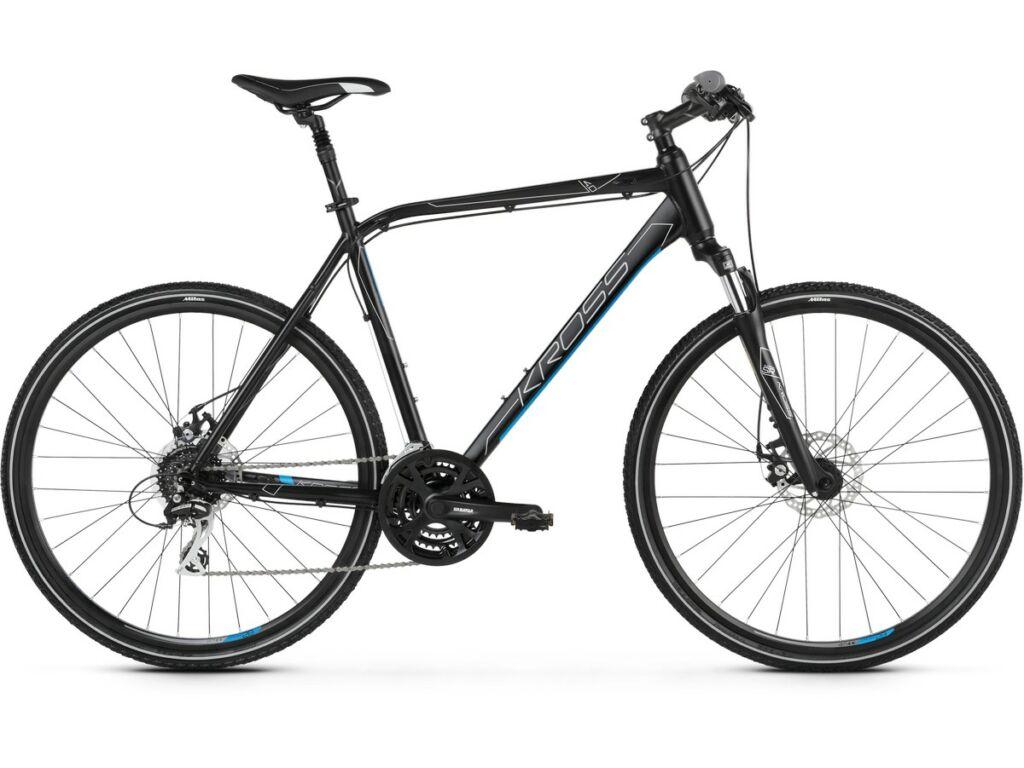 "KROSS Evado 4.0 M 2020 28"" férfi cross kerékpár, black / blue"