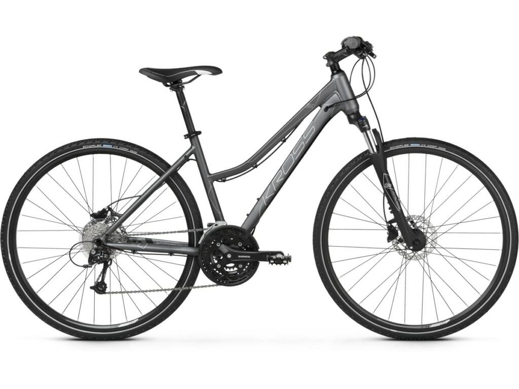 "KROSS Evado 6.0 D 2020 28"" női cross kerékpár, graphite / black"