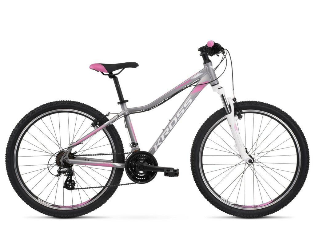 KROSS Lea 2.0 2020 női MTB kerékpár, silver / white / pink