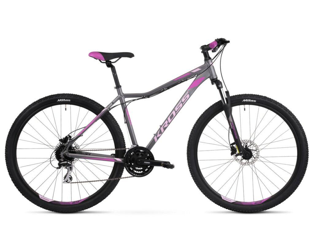 KROSS Lea 5.0 2020 női MTB kerékpár, graphite / pink / violet