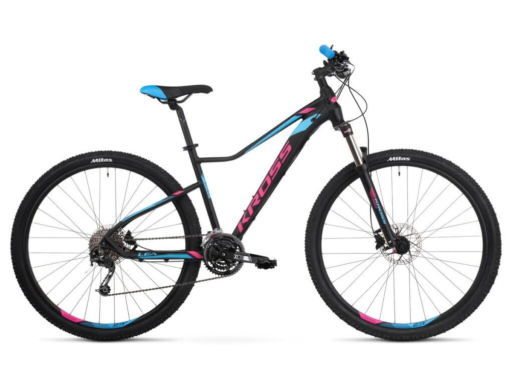 KROSS Lea 8.0 2020 női MTB kerékpár, black / pink / blue