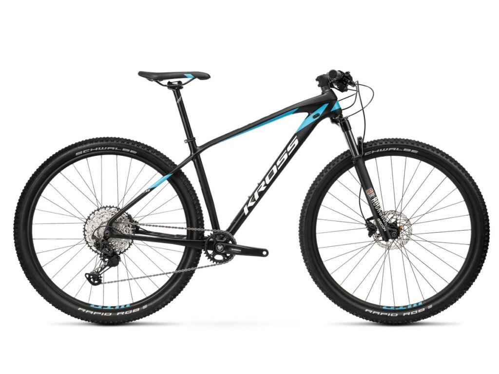 """KROSS Level 11.0 2020 29"""" MTB XC kerékpár, black / blue / white"""