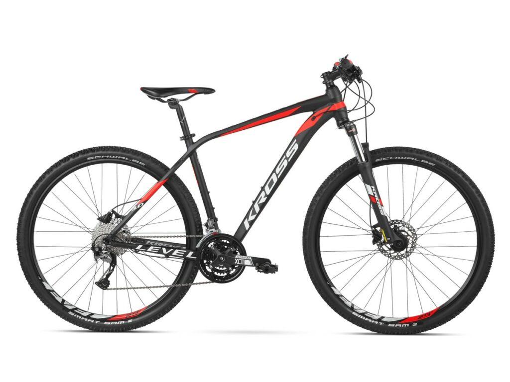 KROSS Level 3.0 2020 MTB XC kerékpár, black / lime / white