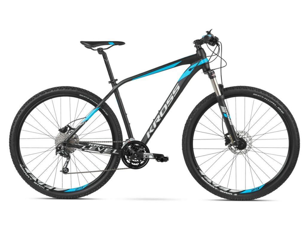 KROSS Level 4.0 2020 MTB XC kerékpár, black / blue / silver