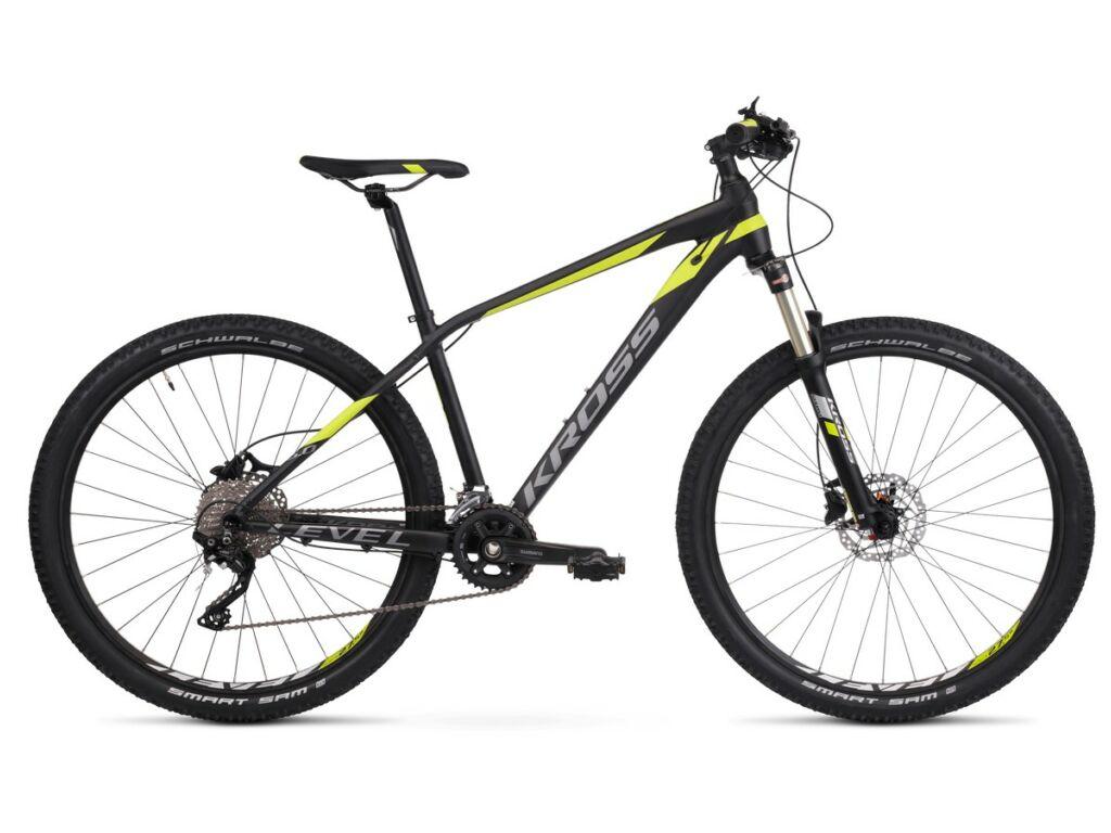 KROSS Level 6.0 2020 MTB XC kerékpár, black / lime / graphite