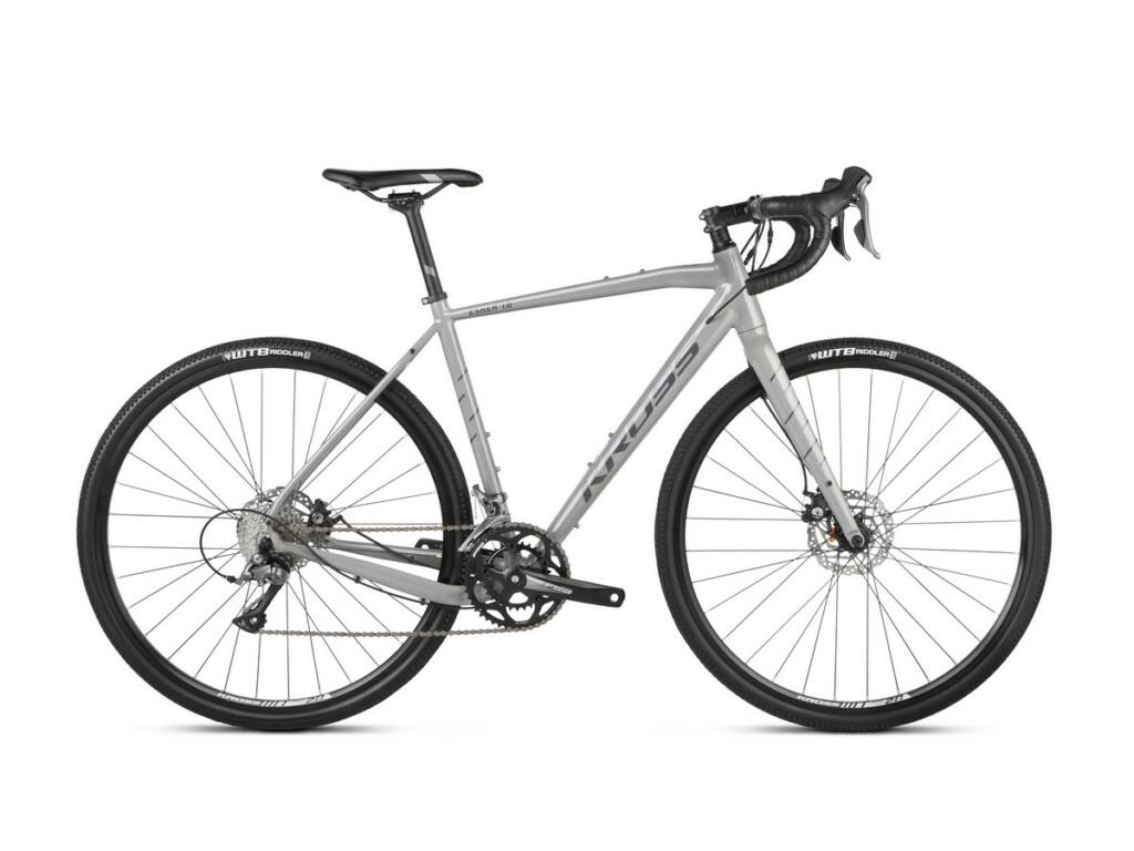 "KROSS Esker 1.0 2021 28"" gravel kerékpár, grey / graphite"