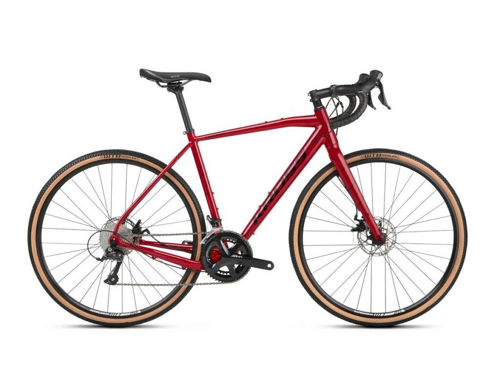 """KROSS Esker 2.0 2021 28"""" gravel kerékpár, red / black"""