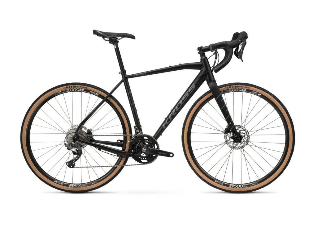 """KROSS Esker 6.0 2021 28"""" gravel kerékpár, black / graphite"""