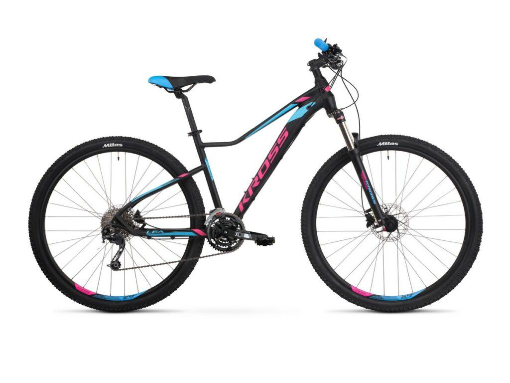 KROSS Lea 8.0 2021 női MTB kerékpár, black / pink / blue