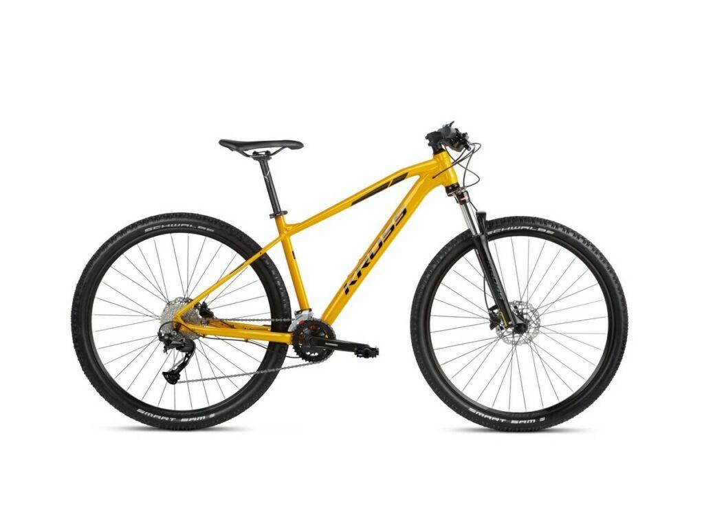 KROSS Level 2.0 2021 29'' MTB XC kerékpár, yellow / black