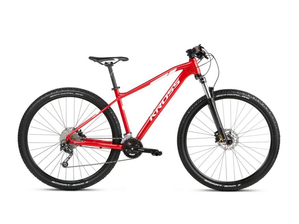 "KROSS Level 3.0 2021 29"" MTB XC kerékpár, red / white"