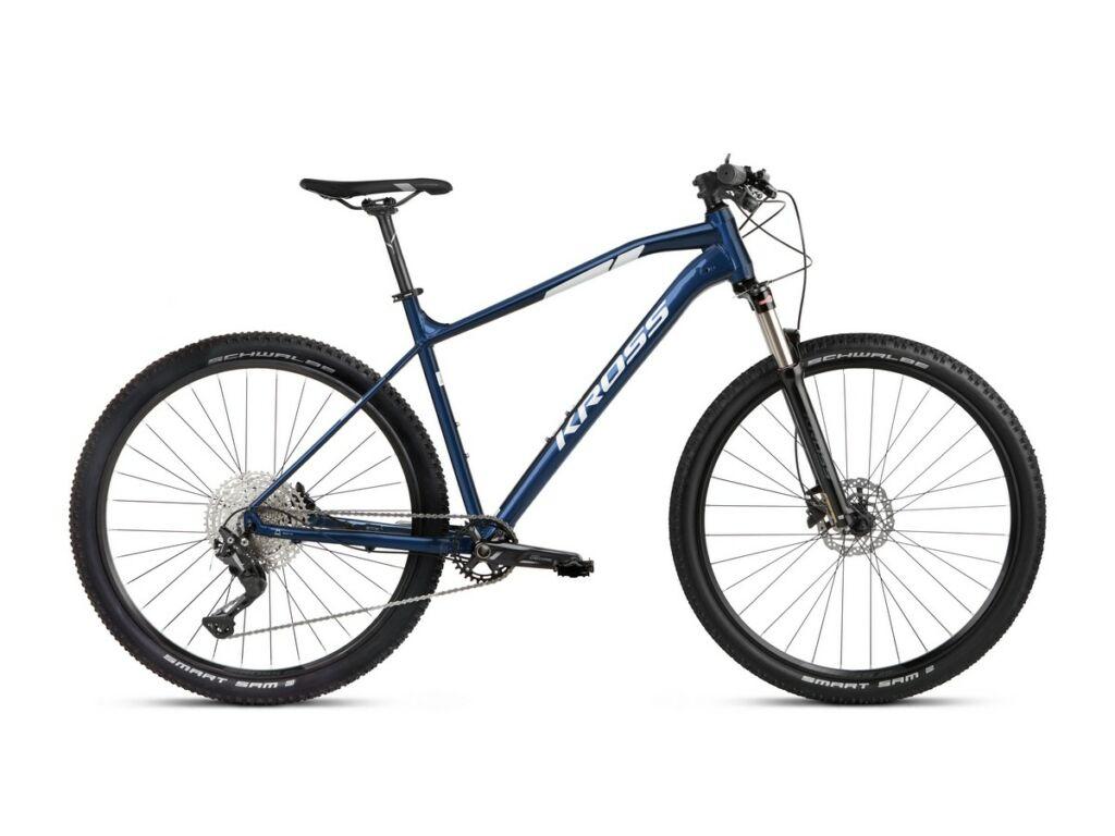 """KROSS Level 4.0 2021 29"""" MTB XC kerékpár, navy blue / white"""