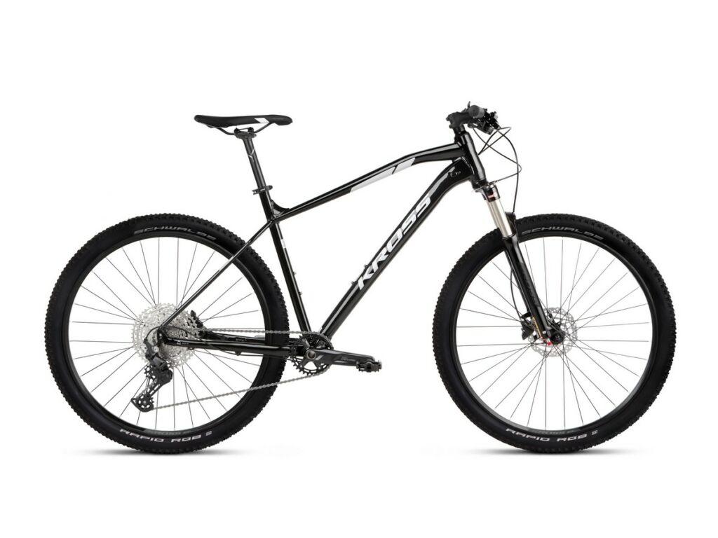 """KROSS Level 5.0 2021 29"""" MTB XC kerékpár, black / silver"""