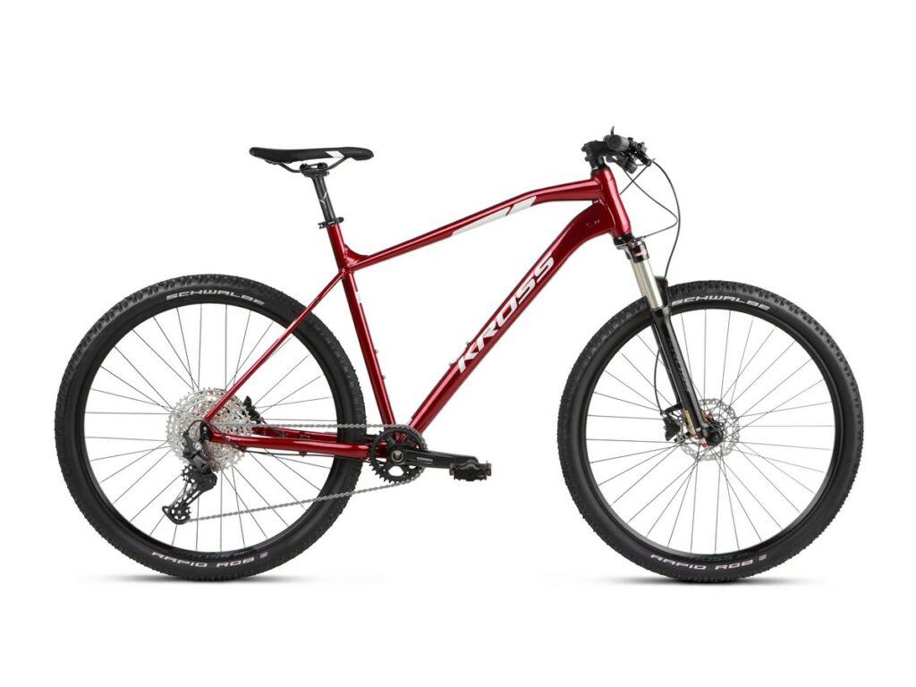 """KROSS Level 6.0 2021 29"""" MTB XC kerékpár, ruby / silver"""