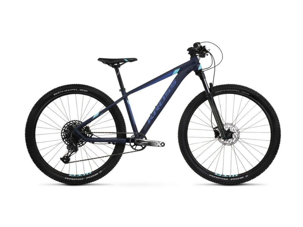 KROSS Level 7.0 Lady 2021 női MTB kerékpár, navy blue / aquamarine / blue