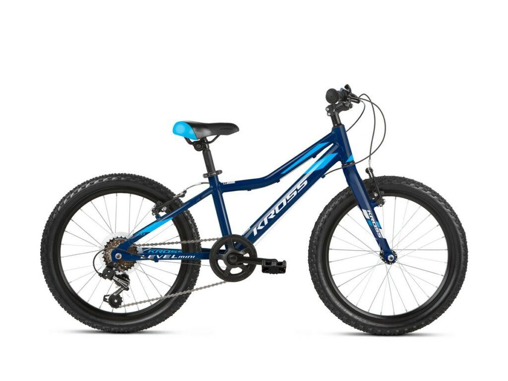 KROSS Level Mini 3.0 Light 2021 fiú MTB gyermekkerékpár, navy blue / blue