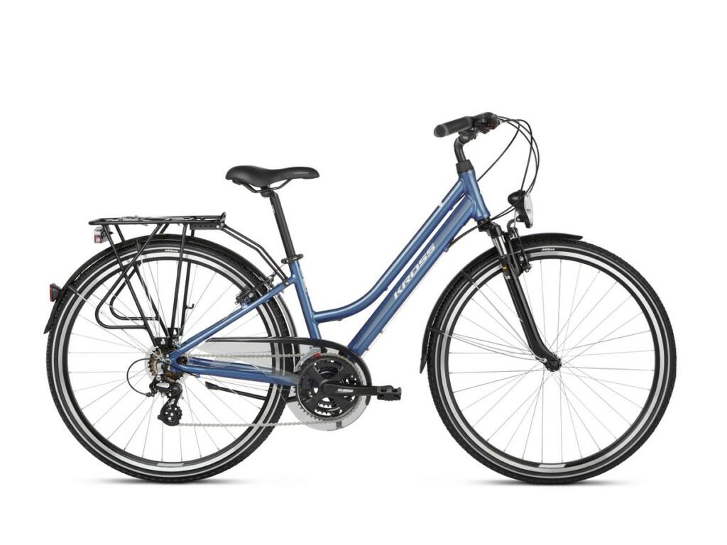 KROSS Trans 2.0 D 2021 női trekking kerékpár, blue / white