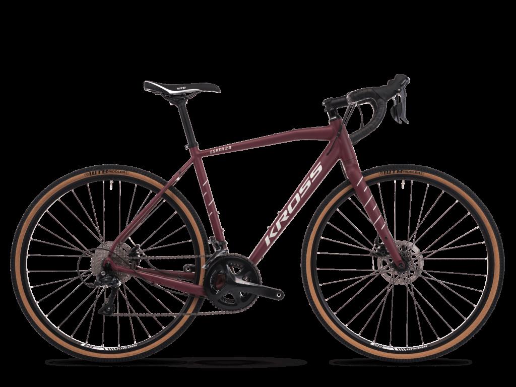 KROSS ESKER 2.0 gravel kerékpár, bordó