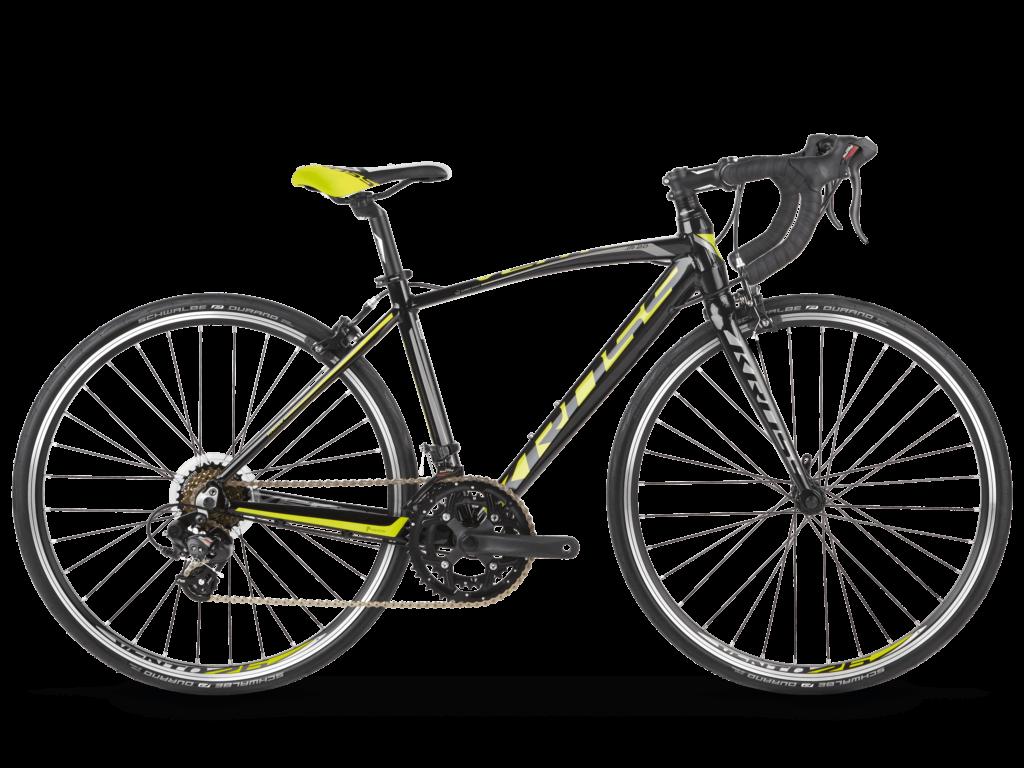 """KROSS VENTO JR 2.0 S (16"""") gyermekkerékpár, fekete / sárga"""