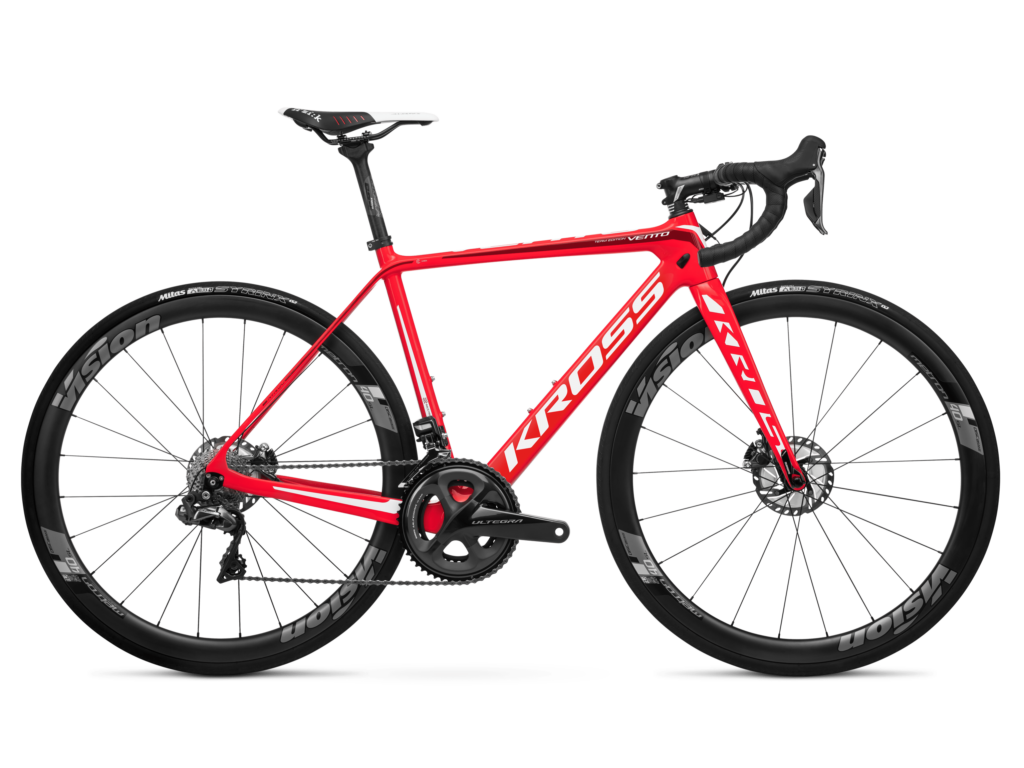 KROSS VENTO TE országúti kerékpár, piros