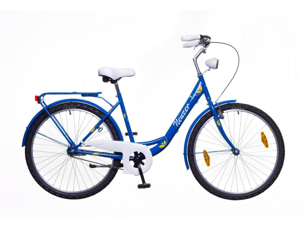 NEUZER Balaton 26 Plus női városi kerékpár, kék / fehér-sárga
