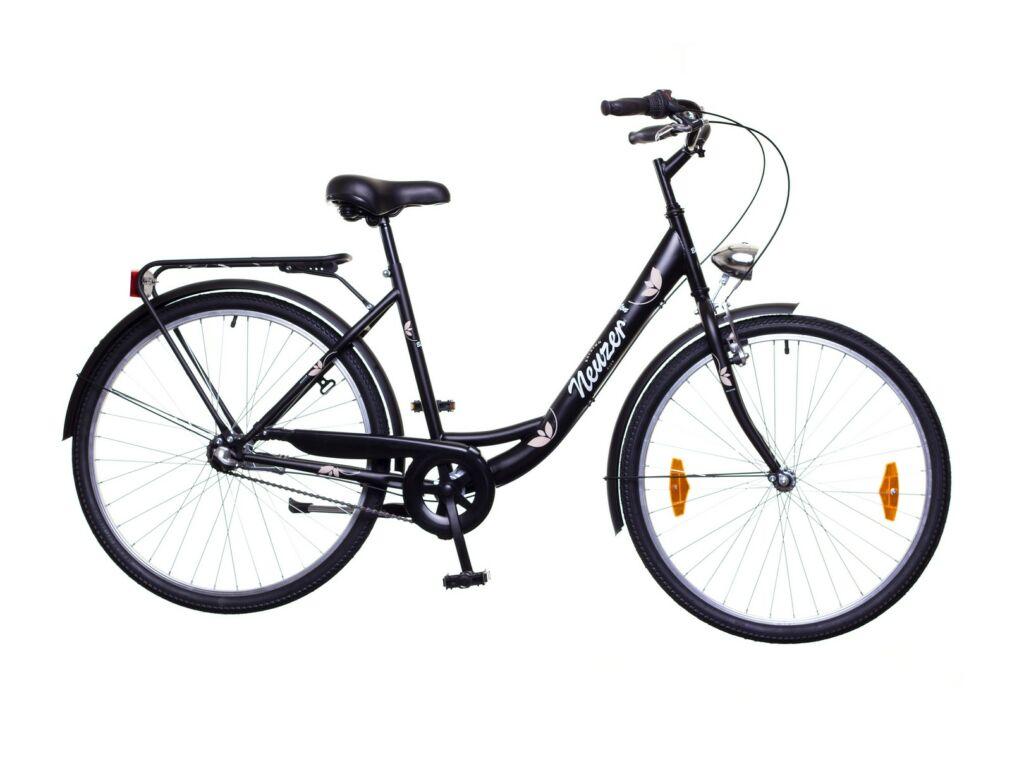 NEUZER Balaton Eco 26 N3 városi kerékpár, fekete