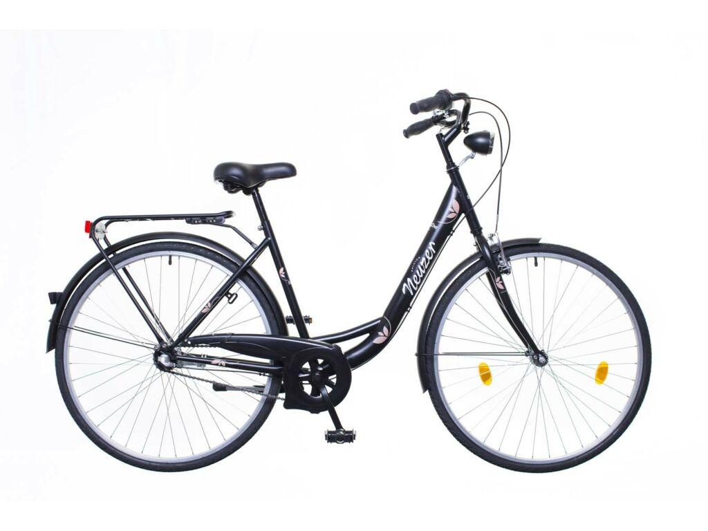 NEUZER Balaton Eco 28 N3 városi kerékpár, fekete