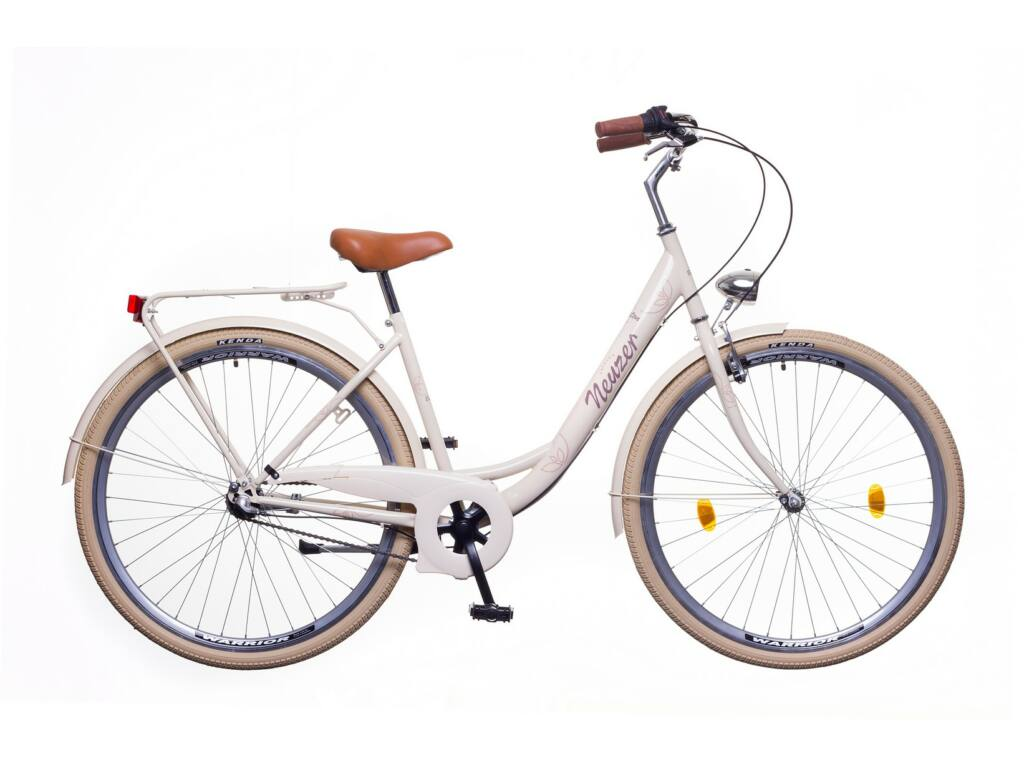 NEUZER Balaton Premium 28 N3 női városi kerékpár, krém / barna-barna