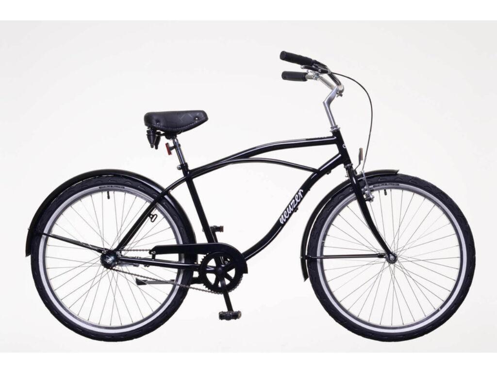 NEUZER Beach Eco férfi városi / cruiser kerékpár, fekete
