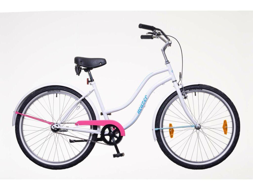 NEUZER Beach Eco női városi / cruiser kerékpár, fehér