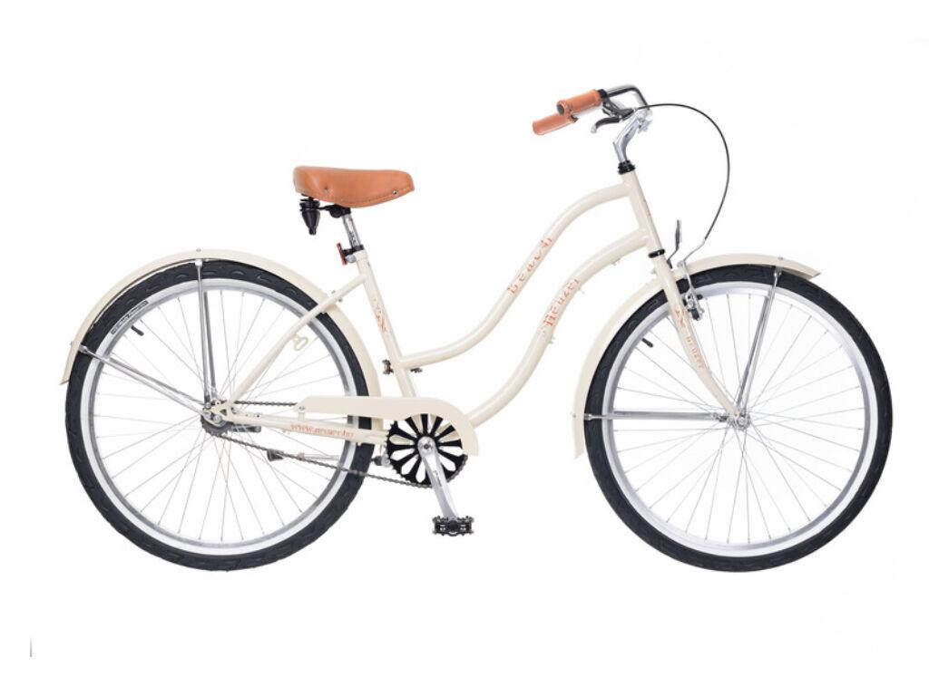 NEUZER Beach női városi / cruiser kerékpár, krém
