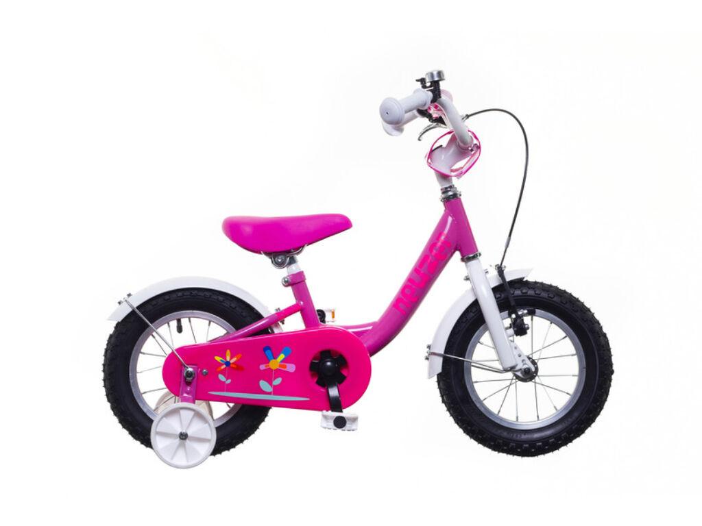 NEUZER BMX 12 lány gyerek kerékpár, pink / fehér-pink