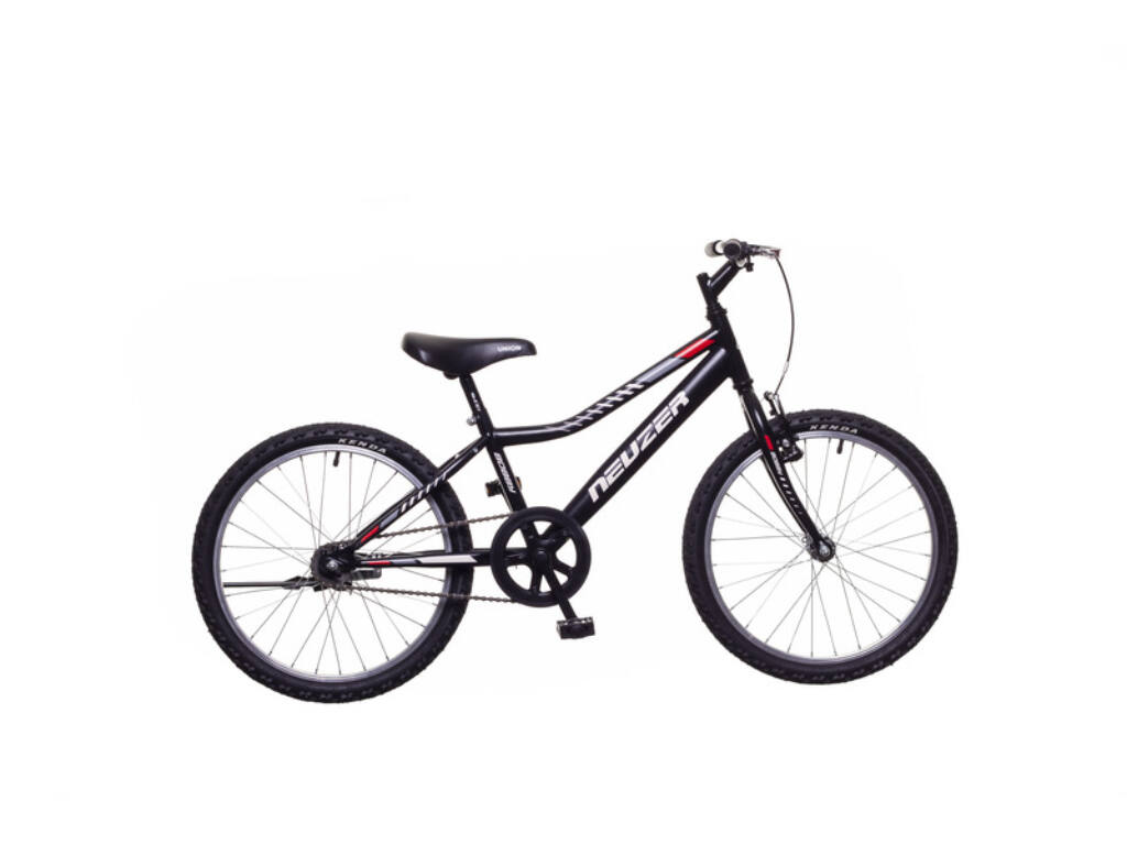 NEUZER BOBBY 20 1S gyerek MTB kerékpár, fekete / szürke-piros