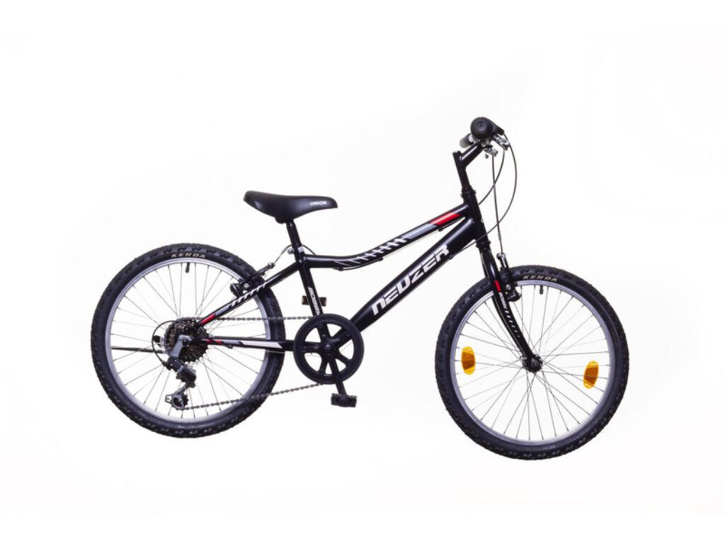 NEUZER BOBBY 20 6S gyerek MTB kerékpár, fekete / szürke-piros