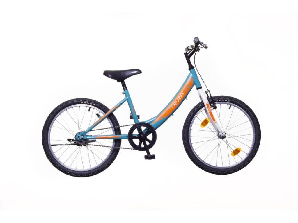 NEUZER CINDY 20 1S gyerek MTB kerékpár, türkiz / fehér-sárga