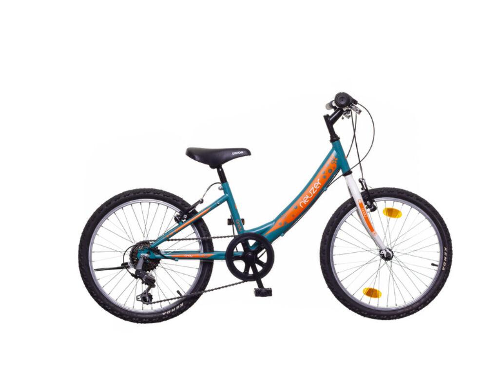 NEUZER CINDY 20 6S gyerek MTB kerékpár, türkiz / fehér-sárga