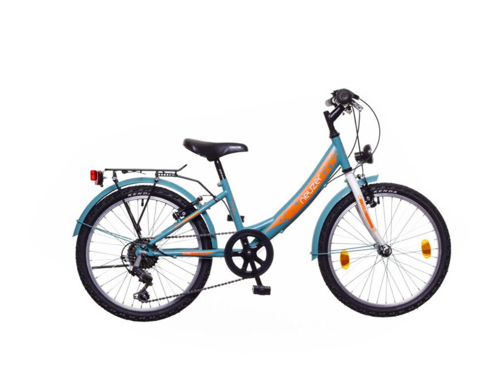 NEUZER CINDY 20 CITY gyerek MTB kerékpár, türkiz / fehér-sárga