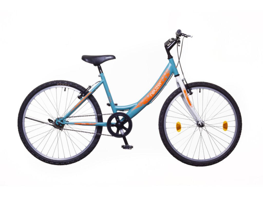 NEUZER CINDY 24 1S gyerek MTB kerékpár, türkiz / fehér-sárga